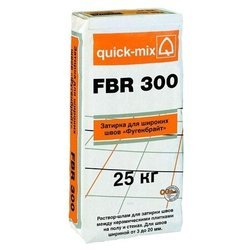 Затирка quick-mix FBR 300 Фугенбрайт 25 кг