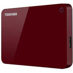 Toshiba Canvio Advance 1TB (HDTC910ER3AA) (красный)