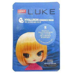 LUKE маска с гиалуроновой кислотой Hyaluron Essence Mask