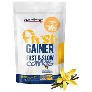 Гейнер Be First First Gainer Fast & Slow Carbs (1000 г)