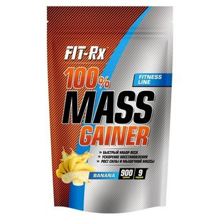 Гейнер FIT-Rx 100% Mass Gainer (900 г)