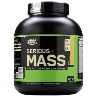 Гейнер Optimum Nutrition Serious Mass (2.72 кг)