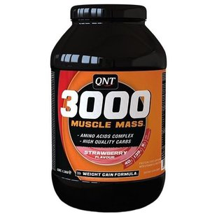 Гейнер QNT 3000 Muscle Mass (1.3 кг)