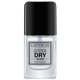 Верхнее покрытие CATRICE CATRICE Super Dry Gloss Top Coat 10.5 мл