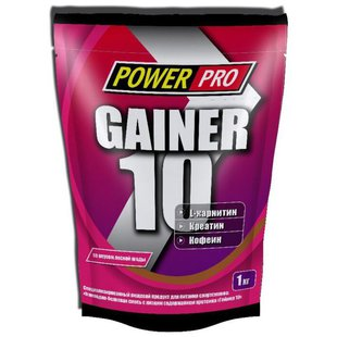 Гейнер Power Pro Gainer 10 (1000 г)